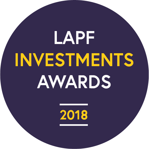 LPP LAPF Investments Awards 2018 - Winner GLIL Infrastructure - Collaboration Award Icon